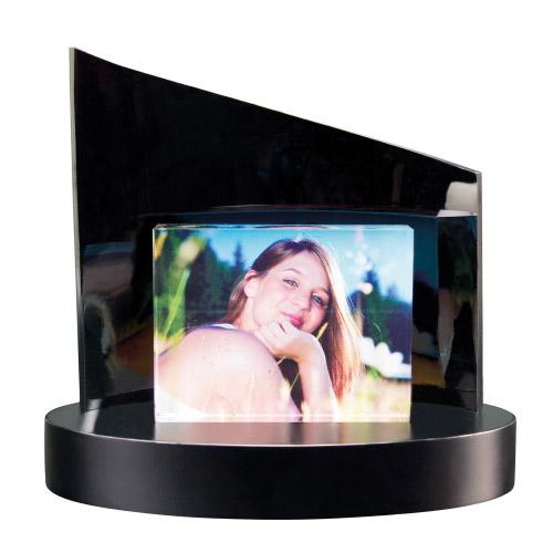 Foto auf Glas + Clarisso® Sockel - SET - 105x80x19 quer
