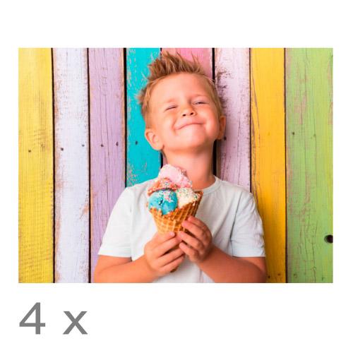 4er Set Foto-Tischset