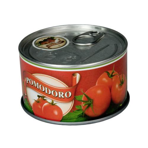 Foto-Uhr in Dose Pomodoro
