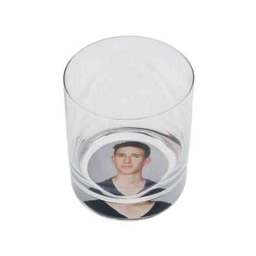 6er Set Trinkgläser klein mit Foto