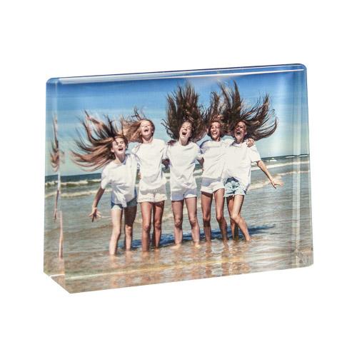 Glasframe mit Fotodruck - L quer