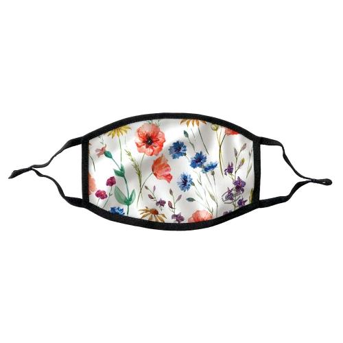 Lamask Mund-Nasen-Bedeckung FLOWERS
