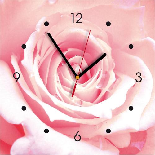 Wanduhr My Clock - Rose