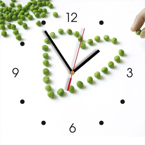 Wanduhr My Clock Foto-Herz