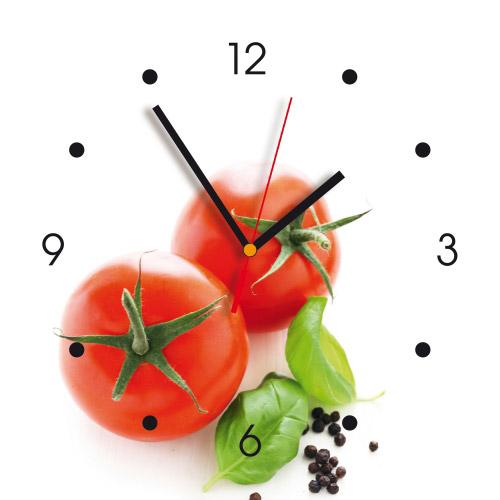 Wanduhr My Clock - Tomaten