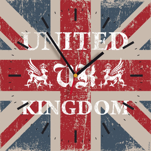 Wanduhr - Flagge UK