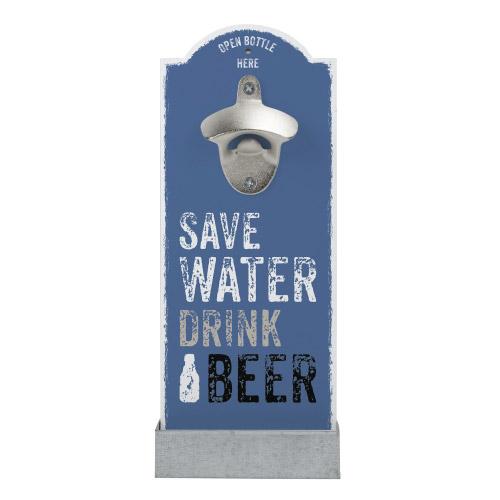Wand-Flaschenöffner - Save Water