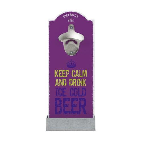 Wand-Flaschenöffner - Keep Calm...´´ beere´´