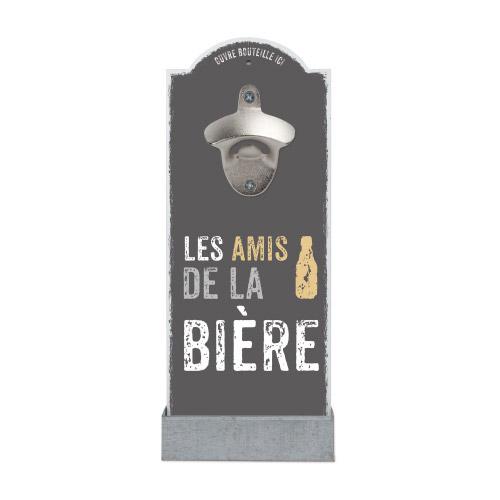 Wand-Flaschenöffner LES AMIS DE LA BIÈRE