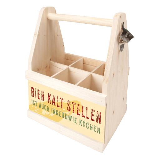 Beer Caddy BIER KALT STELLEN IST AUCH IRGENDWIE...