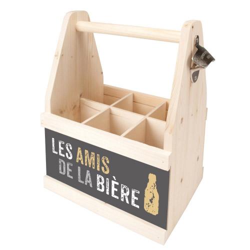 Beer Caddy LES AMIS DE LA BIÈRE