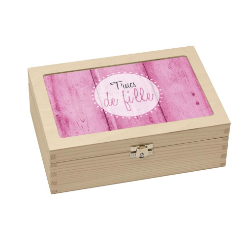 Utensil Box TRUCS DE FILLE