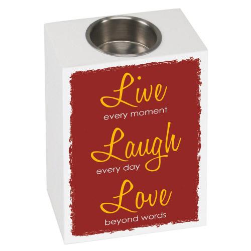 Teelichthalter Sensa Live Laugh Love´´´´