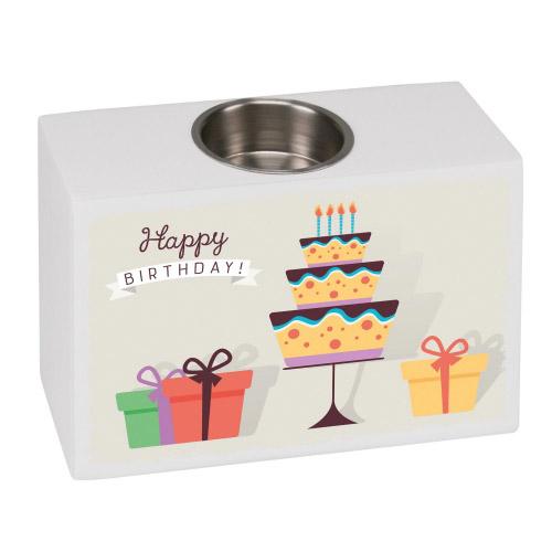 Teelichthalter Sensa Happy Birthday´´ Geschenke...