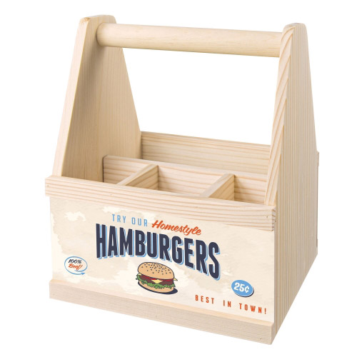 Besteck Caddy HAMBURGERS
