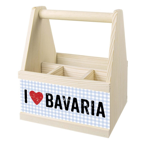 Besteck Caddy I LOVE BAVARIA