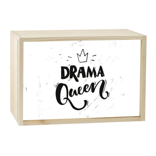Lightbox DRAMA QUEEN 30x20 cm