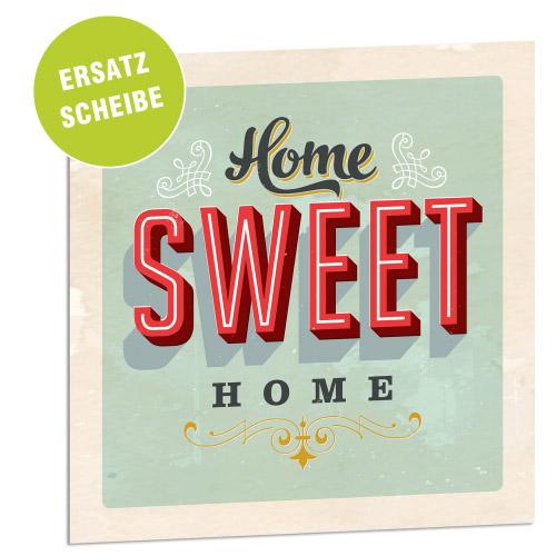 Acrylglasscheibe für Lightbox HOME SWEET HOME 2...