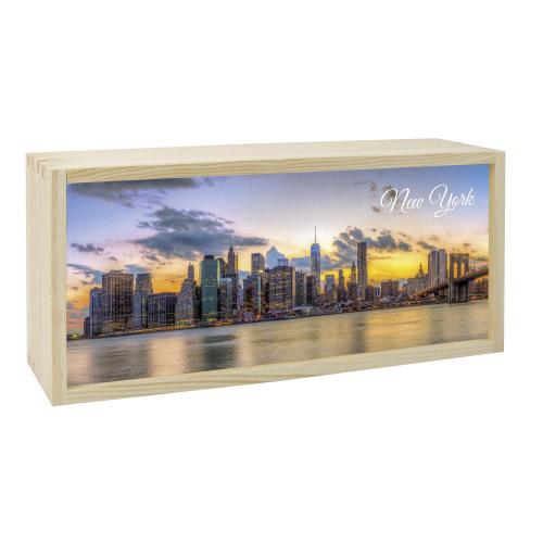 Lightbox NEW YORK 35x15 cm