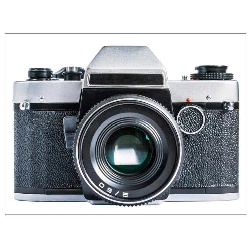 Tischset Vinyl Kamera