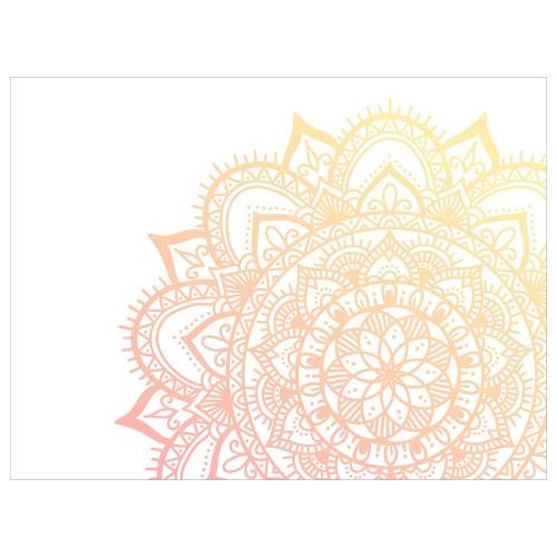 Tischset Vinyl Flower Mandala