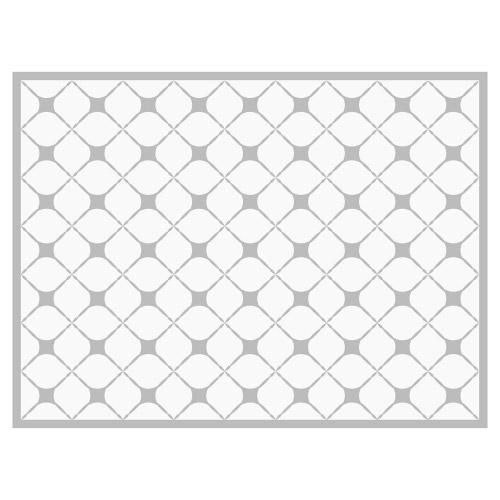 Tischset Vinyl Pattern Grau 1