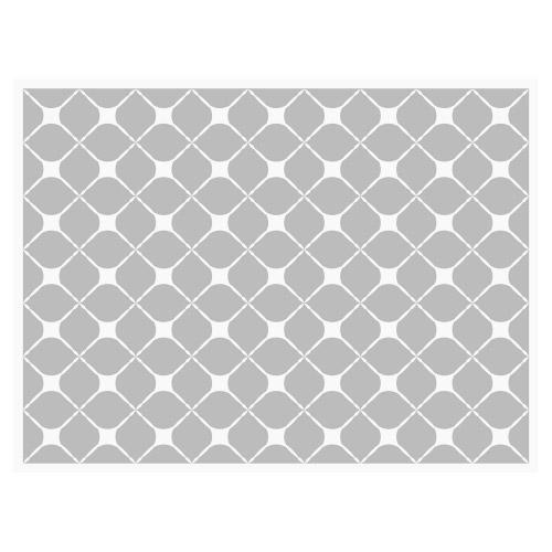 Tischset Vinyl Pattern Grau 2