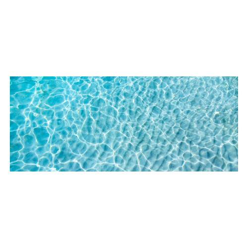 Vinyl Teppich MATTEO 50x120 cm Water Turquoise