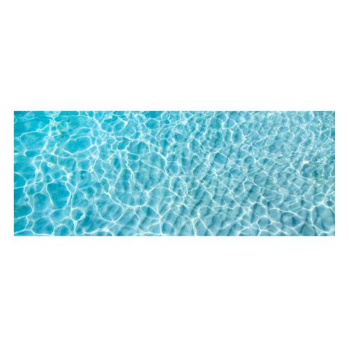 Vinyl Teppich MATTEO 70x180 cm Water Turquoise