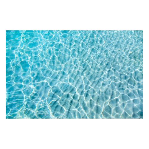 Vinyl Teppich MATTEO 90x135 cm Water Turquoise