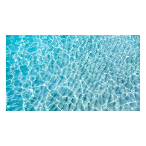 Vinyl Teppich MATTEO 90x160 cm Water Turquoise