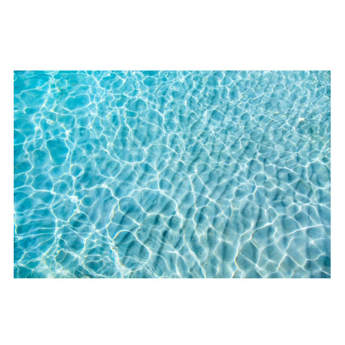 Vinyl Teppich MATTEO 118x180 cm Water Turquoise