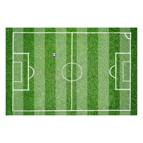 Vinyl Teppich MATTEO 40x60 cm Fußballfeld