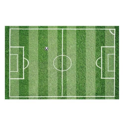 Vinyl Teppich MATTEO 90x135 cm Fußballfeld