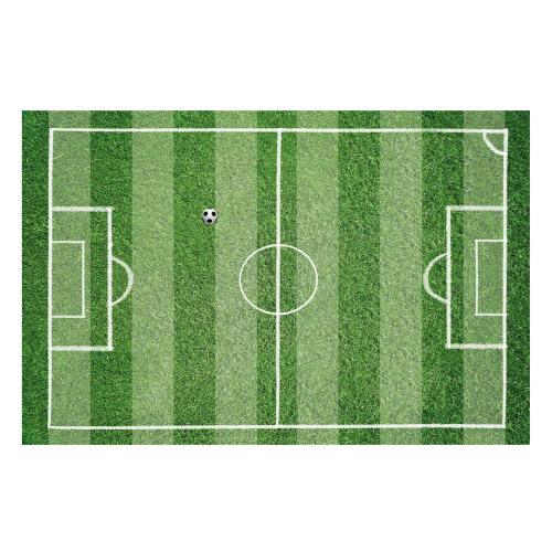 Vinyl Teppich MATTEO 118x180 cm Fußballfeld