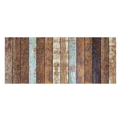 MATTEO Vinyl Teppich 50x120 cm - Treibholz