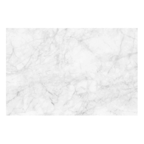 Vinyl Teppich MATTEO 40x60 cm Marmor Weiß