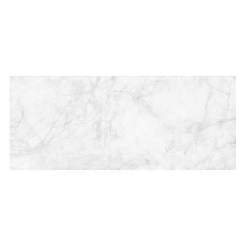 Vinyl Teppich MATTEO 50x120 cm Marmor Weiß