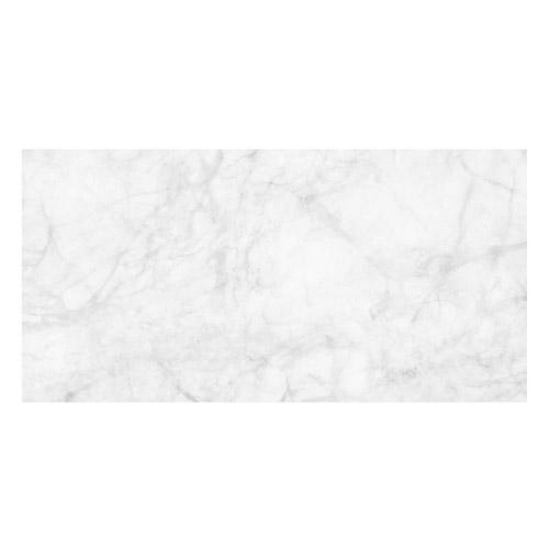 Vinyl Teppich MATTEO 70x140 cm Marmor Weiß