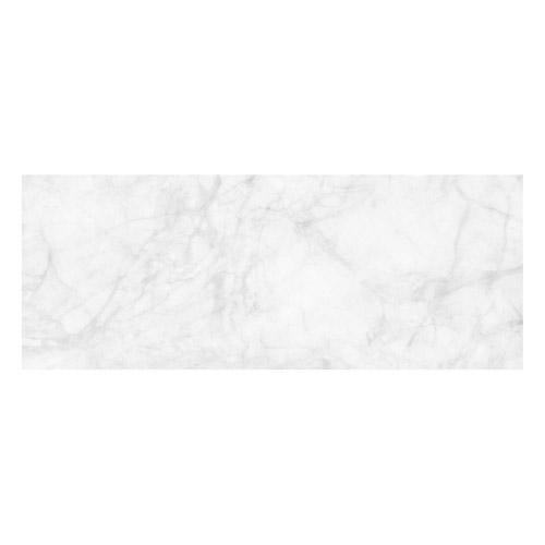 Vinyl Teppich MATTEO 70x180 cm Marmor Weiß
