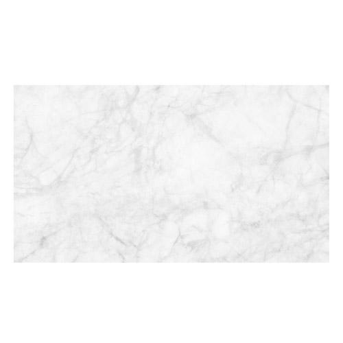 Vinyl Teppich MATTEO 90x160 cm Marmor Weiß