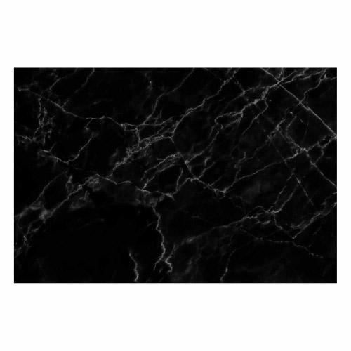 Vinyl Teppich MATTEO 40x60 cm Marmor Schwarz