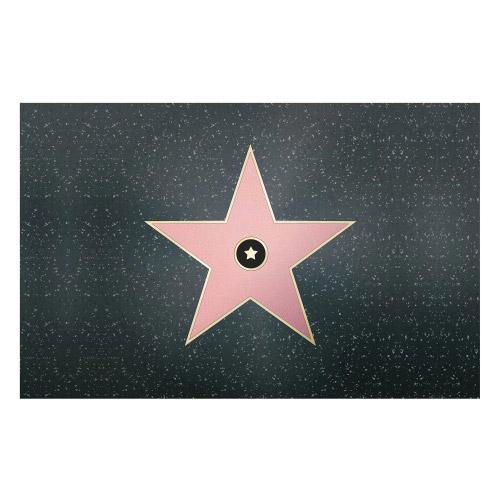Vinyl Teppich MATTEO 90x135 cm Walk of Fame