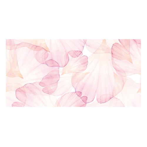 Vinyl Teppich MATTEO 70x140 cm Rose Leaves