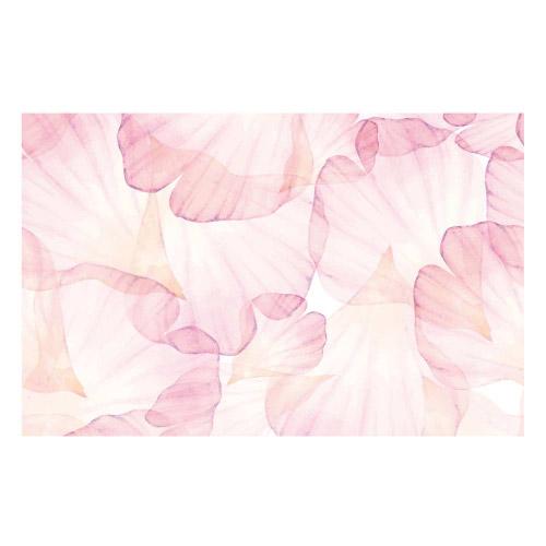 Vinyl Teppich MATTEO 90x135 cm Rose Leaves