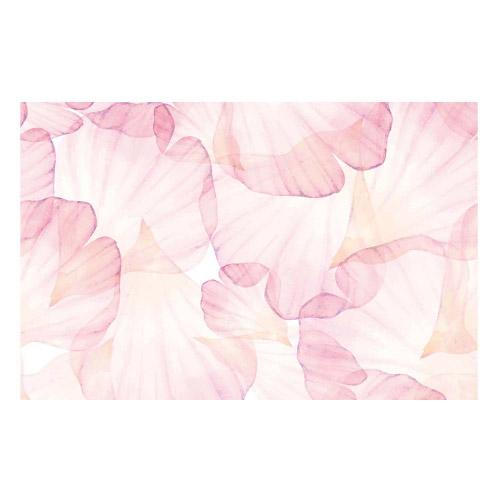 Vinyl Teppich MATTEO 118x180 cm Rose Leaves
