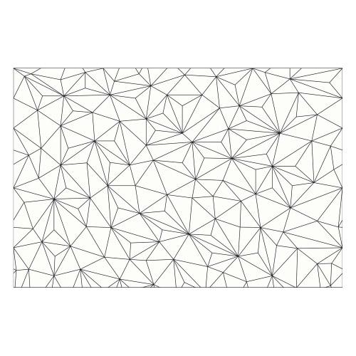 Vinyl Teppich MATTEO 60x90 cm Triangle