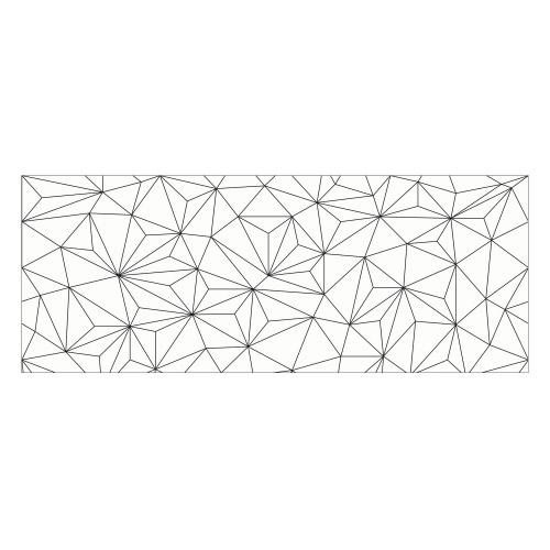 Vinyl Teppich MATTEO 70x180 cm Triangle