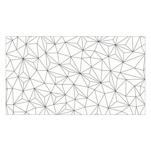 Vinyl Teppich MATTEO 90x160 cm Triangle
