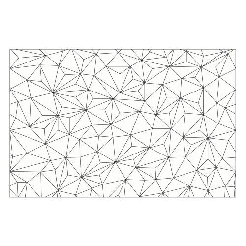 Vinyl Teppich MATTEO 118x180 cm Triangle